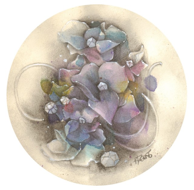 Blue Hydrangea Too