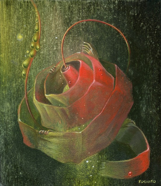 Folding Roses Three